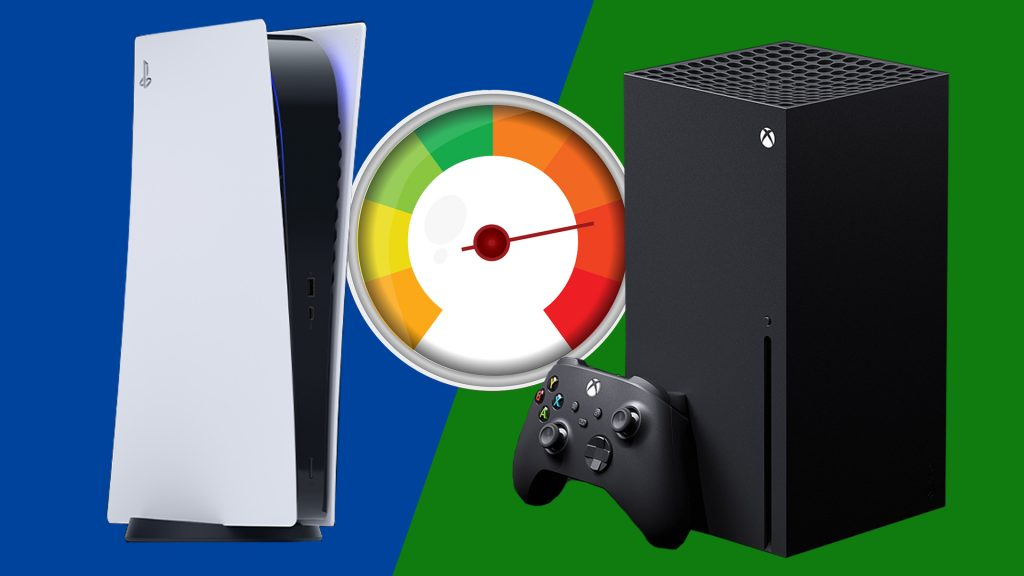 Xbox vs PS5 Geschwindikeit