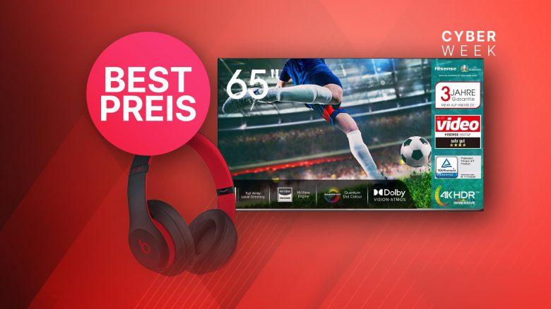 Amazon Black Friday Angebot: Hisense 4K TV zum neuen Bestpreis