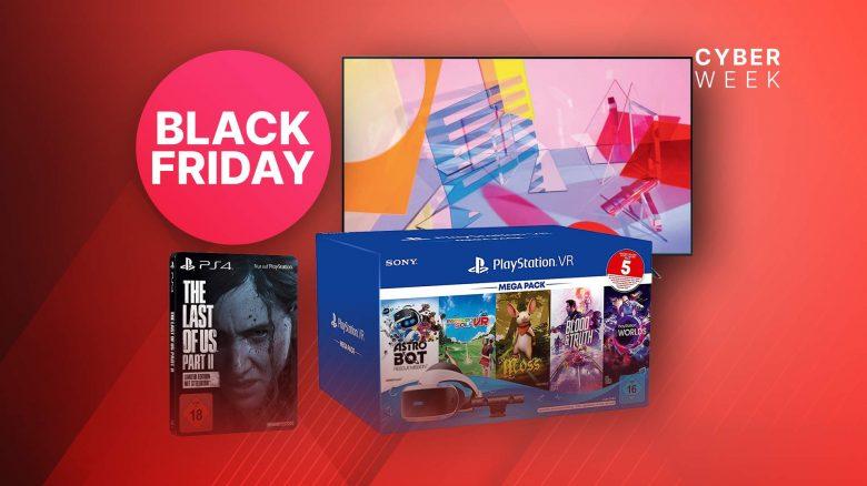 Amazon Black Friday: PS VR, PS4-Spiele & 4K TVs im Angebot