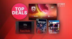 Amazon Black Friday Woche: SSDs, Spiele & OLED 4K TV im Angebot