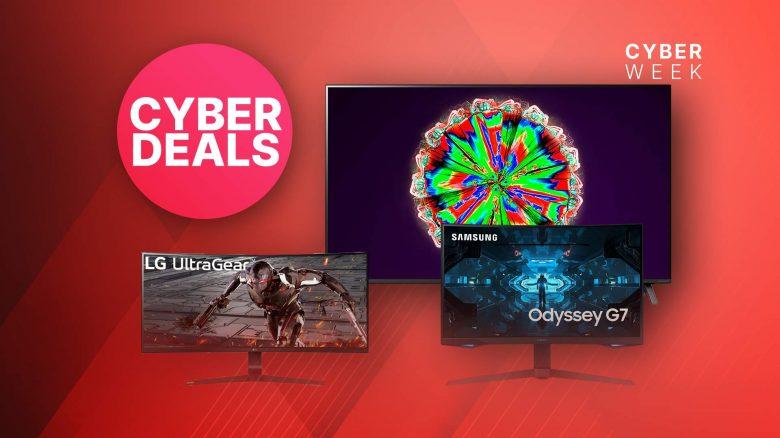 Amazon Cyber Monday: LG 4K TVs & Top Gaming-Monitore zum Bestpreis
