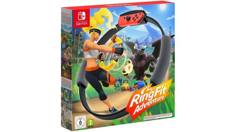 Fitness-Spiel Ring Fit Adventure für Nintendo Switch günstig bei Amazon