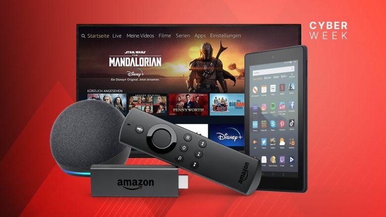 Amazon Black Friday: Fire TV Sticks, Echo 4 & mehr stark reduziert