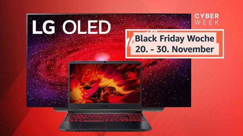 LG OLED CX9, RTX 2060 Gaming-Laptop und mehr reduziert bei Amazon