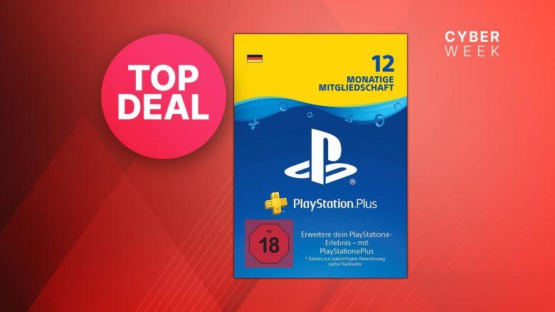 Cyber Monday Angebot: 12 Monate PS Plus zum Bestpreis kaufen