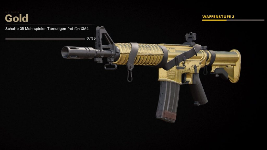 cod cold war camos gold