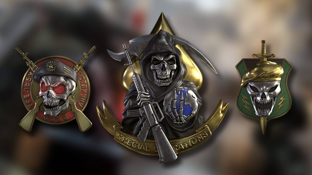cod cold war prestige stufen embleme pre season