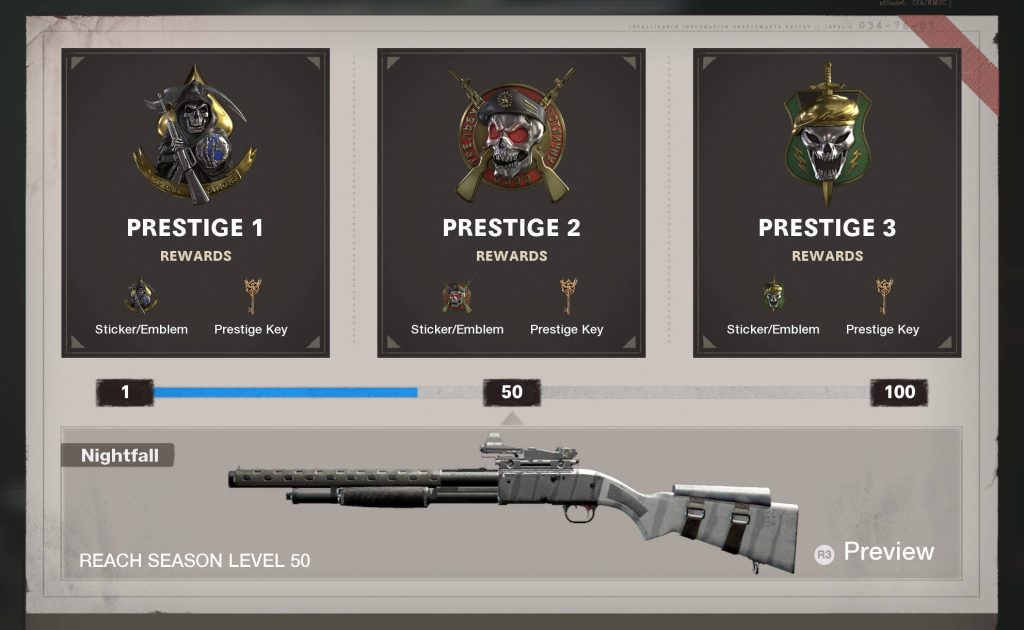cod cold war prestige system belohungen pre season