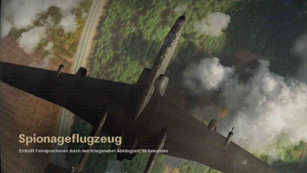 cod cold war scorestreak spionageflugzeug