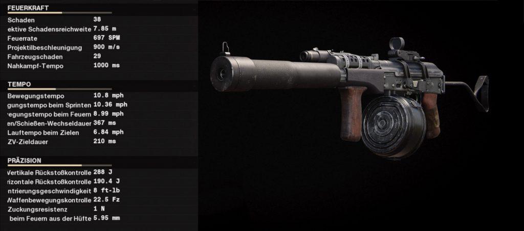 cod cold war waffen ak-74u setup revolverheld