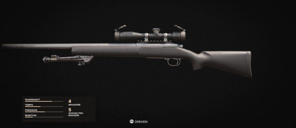 cod cold war waffen sniper pelington