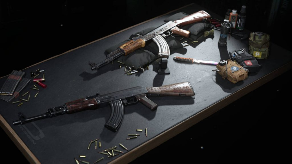 cod cold war warzone zwei AKs in einem loadout