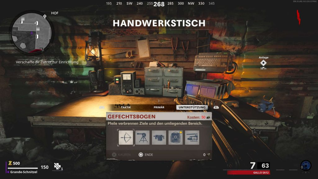 cod cold war zombies handwerkstisch