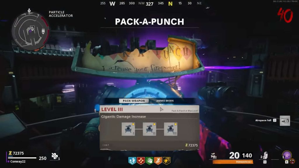 cod cold war zombies pack a punch maschine