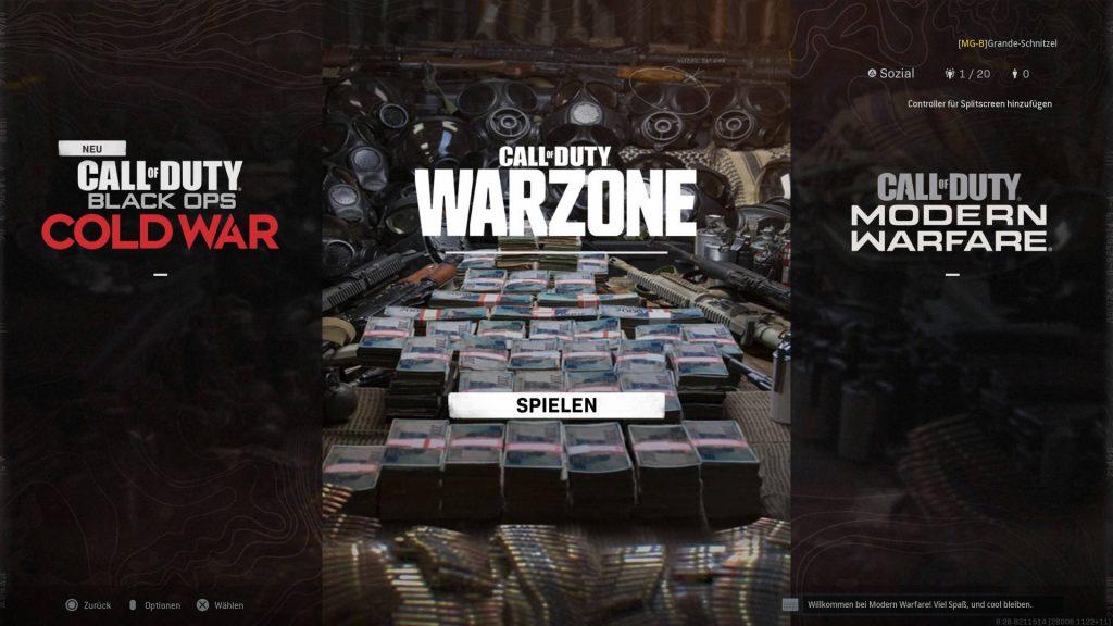 cod modern warfare warzone cold war neuer auswahl bildschirm