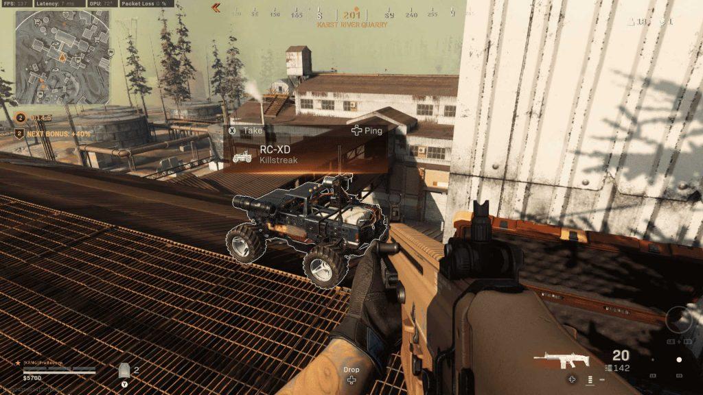 cod warzone cold war killstream rc-xd auto