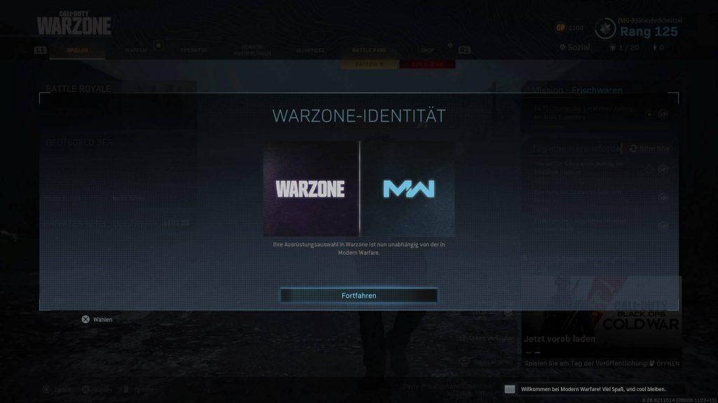 cod warzone modern warfare eigenen loadouts