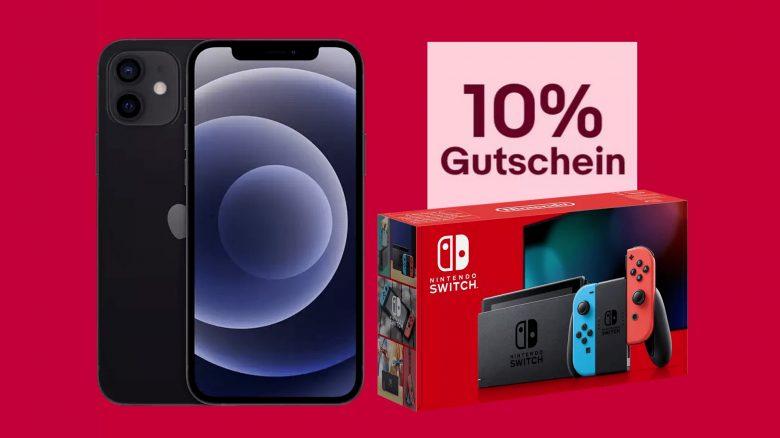iPhone 12 zum Bestpreis, Nintendo Switch günstig und mehr bei eBay