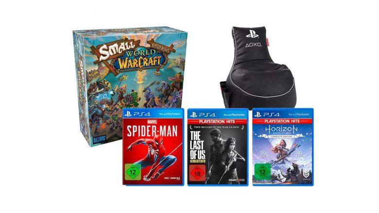 MediaMarkt Gönn-Dir-Dienstag: PS4-Spiele & WoW-Brettspiel im Angebot