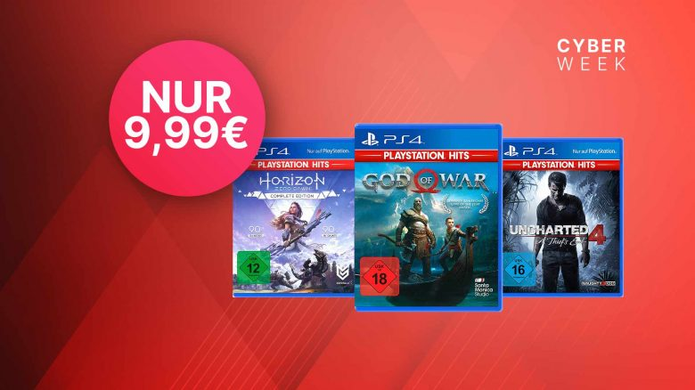 Black Friday bei MediaMarkt & Saturn: Top PS4-Spiele stark reduziert