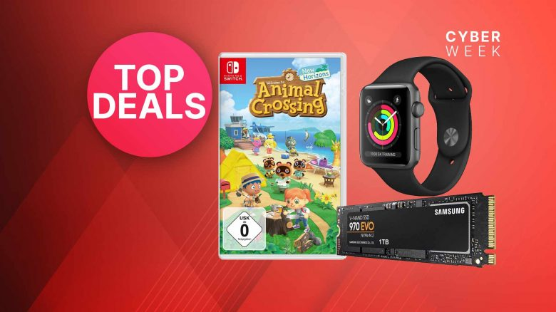 OTTO Black Friday Angebote: 1 TB SSD & Animal Crossing stark reduziert