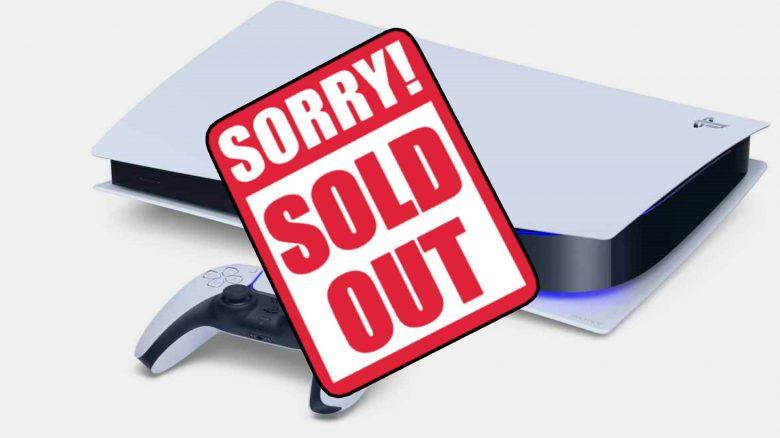 Schlechte Nachrichten für alle, die jetzt eine PS5 bestellen wollen