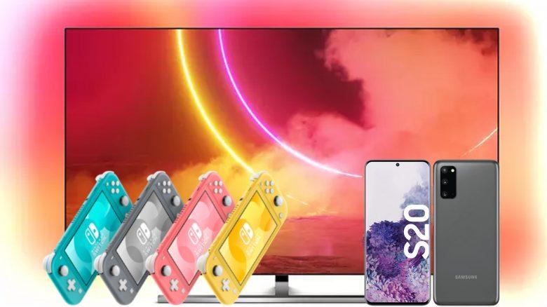 Philips OLED-TV zum Bestpreis, Switch Lite reduziert und mehr bei Saturn