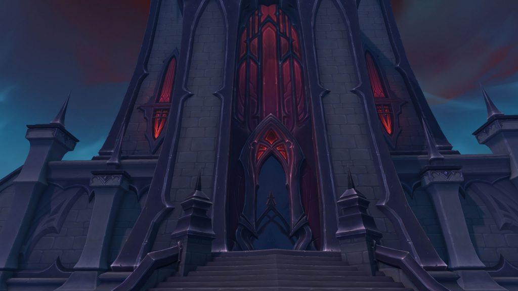 wow shadowlands hallen der sühne Turm