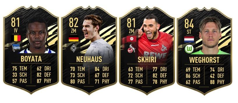 TOTW 10 Bundesliga