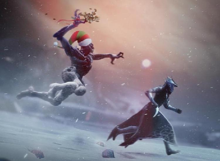 Destiny 2 Weihnachten weglaufen Anbruch Winter