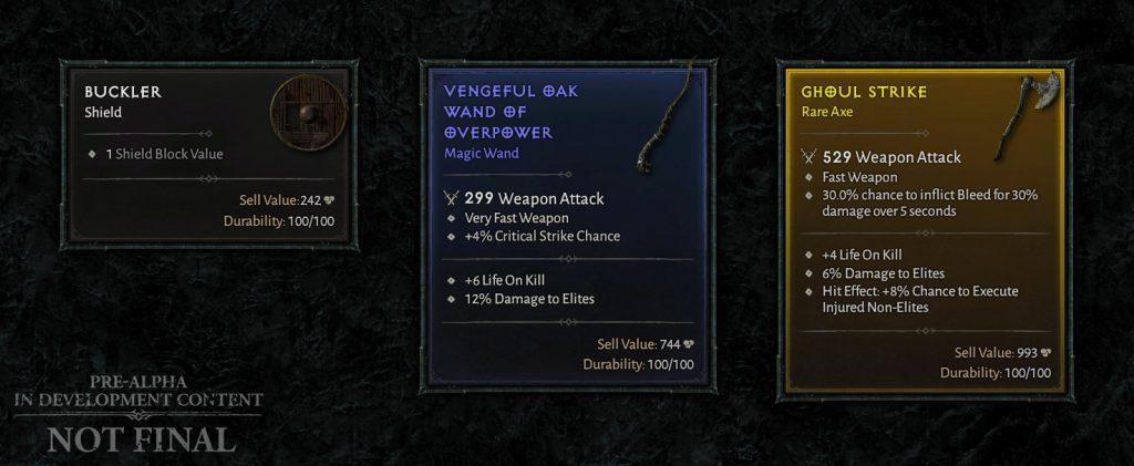 Diablo 4 Waffen