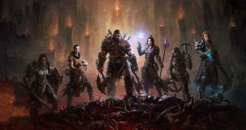 Diablo Immortal Classes Art