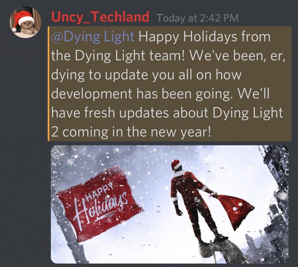 Dying Light 2 ankuendigung