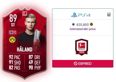 Haaland FIFA 20