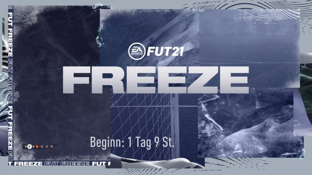 FIFA 21 Freeze