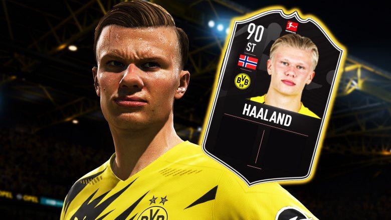 FIFA 21: Haaland kriegt eine irre starke POTM-Karte, die ihr Geld wert ist