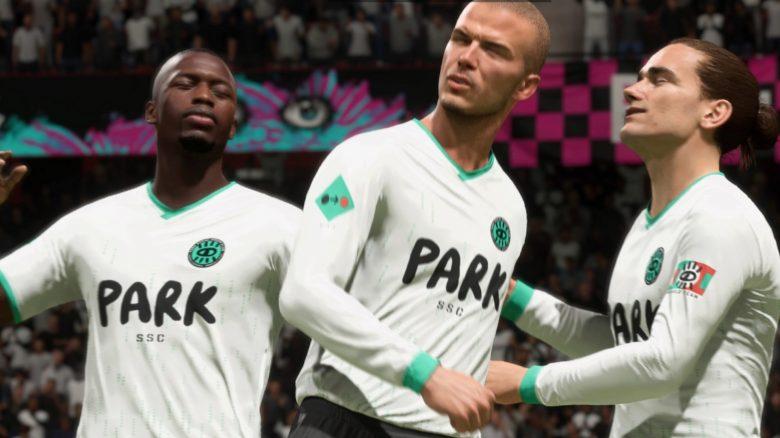 In FIFA 21 geben Spieler gerade nach einem Tor auf und fast alle feiern es