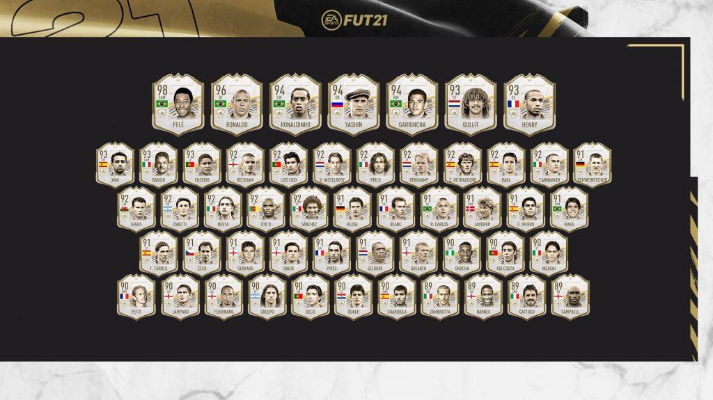 FIFA 21 Prime Icons