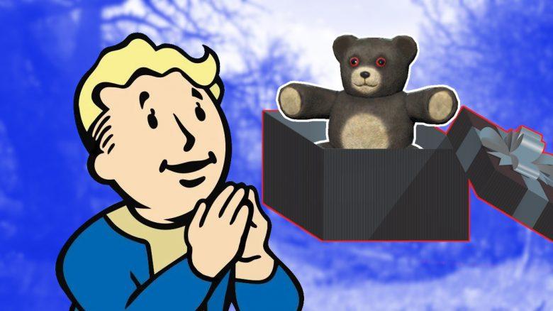 Fallout 76 Weihnachten geschenk Titel