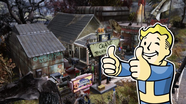 Fallout 76 - New Charleston Markt