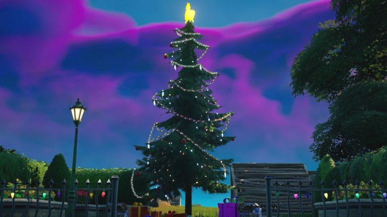 Fortnite: Tanze bei Weihnachtsbäumen – Alle Bäume auf der Map