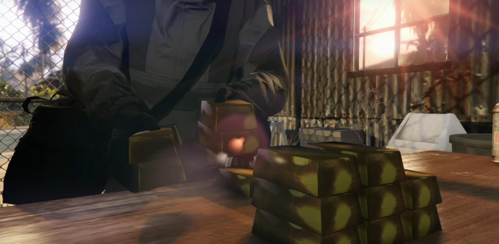 GTA Online Cayo Perico Beute Gold