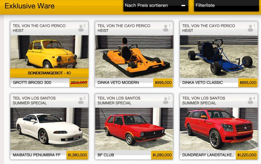 GTA Online Dinka Veto Modern