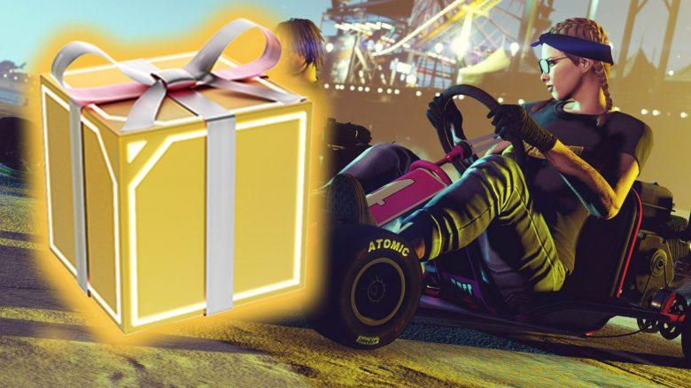 GTA Online schenkt euch zu Weihnachten ein Go-Kart, wenn ihr es euch sichert