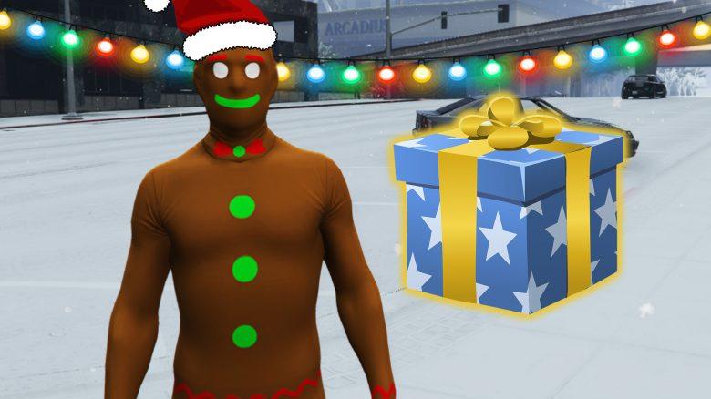 GTA Online Weihnachten Geschenk Titel