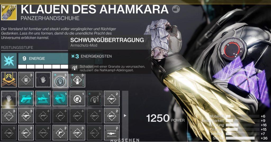 Klauen Ahamkara Mods Stasis Warlock Destiny 2