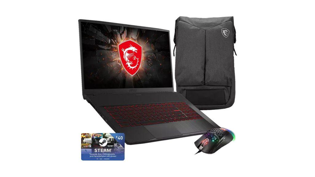 MSI GF75 10SDR Thin Gaming Notebook