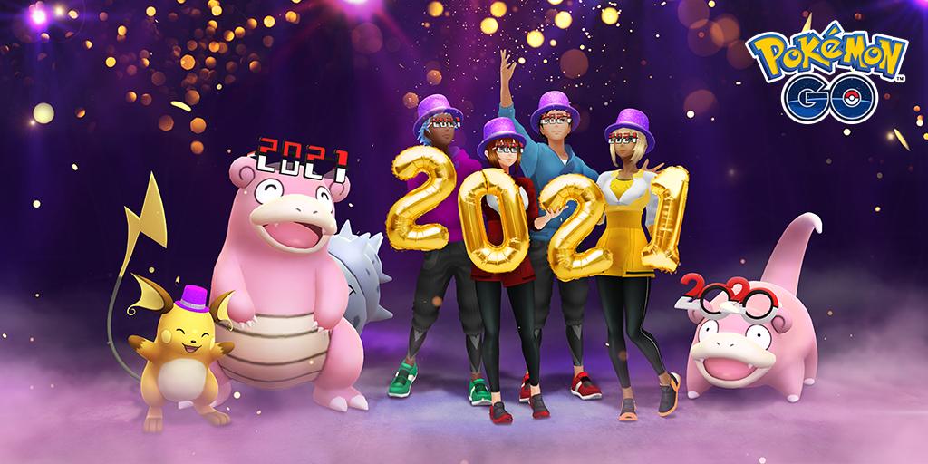 Pokemon GO Event Neujahr 2021