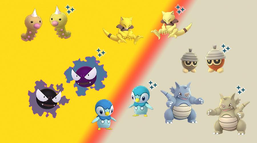 Pokémon GO Community Day Dezember Shinys
