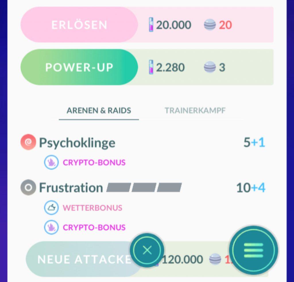 Pokémon GO Frustration Attacke